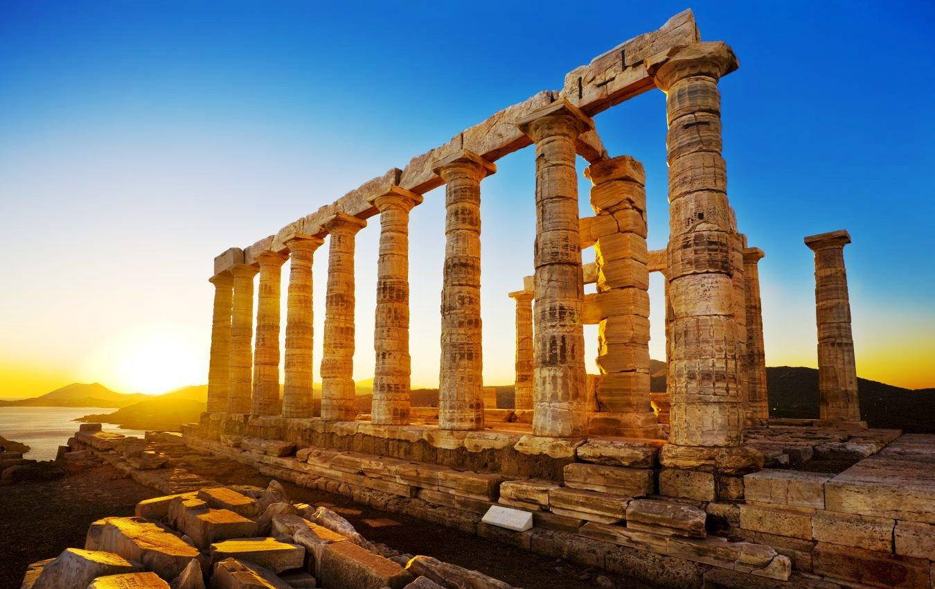 Golful Souno - Templul lui Poseidon